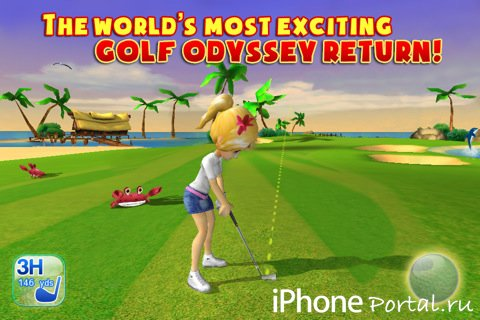 Let's Golf! 3 v1.0.7 [Gameloft] [RUS] [�гры для iPhone/iPod Touch/iPad]