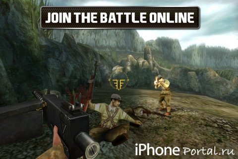 Brothers In Arms® 2: Global Front Free+ v1.0.5 [Gameloft] [�гры для iPhone/iPad]