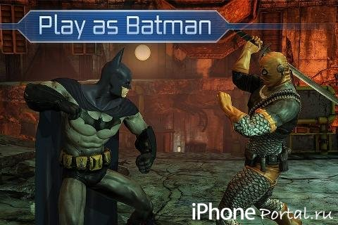 Batman Arkham City Lockdown v1.3 [�гры для iPhone/iPad]