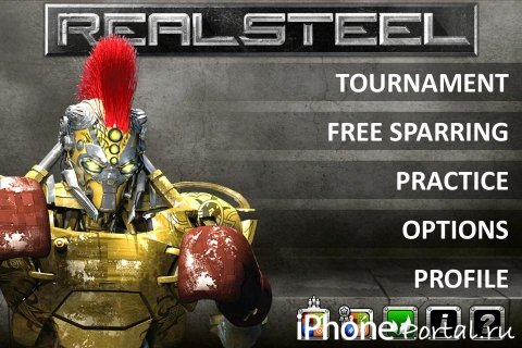 Real Steel v1.0.9 [�гры для iPhone/iPod Touch/iPad]