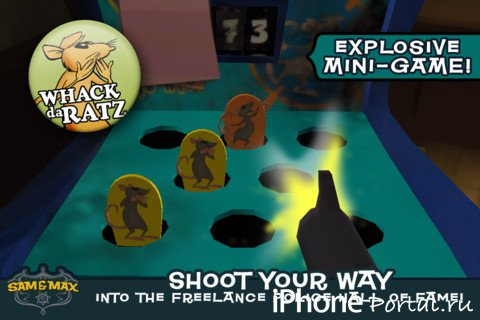 Sam & Max Beyond Time and Space Ep 5 v1.0 [�гры для iPhone/iPad]